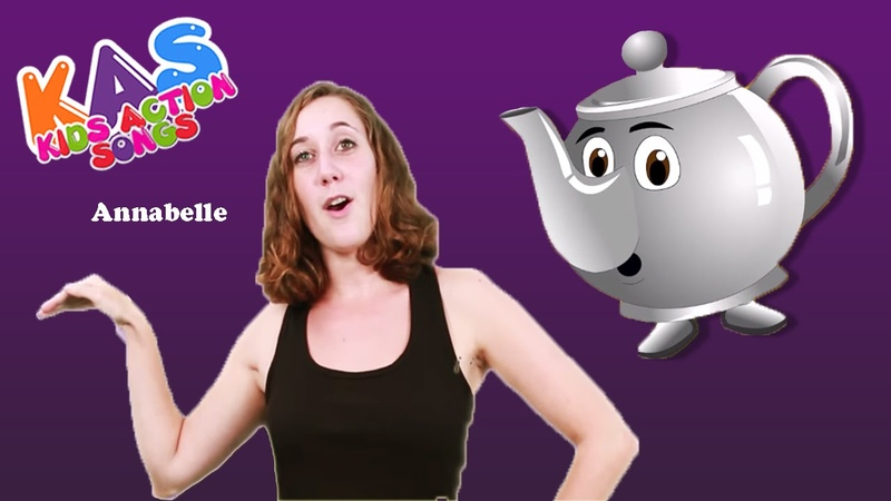 I'm A Little Teapot Action Songs For Children Kids Action Songs