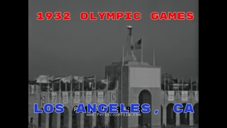 1932 SUMMER OLYMPICS, OLYMPIC VILLAGE & EVENTS   LOS ANGELES, CALIFORNIA  HOME MOVIE (SILENT)  40144