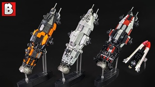 LEGO Rocinante and Razorback The Expanse Custom Builds!
