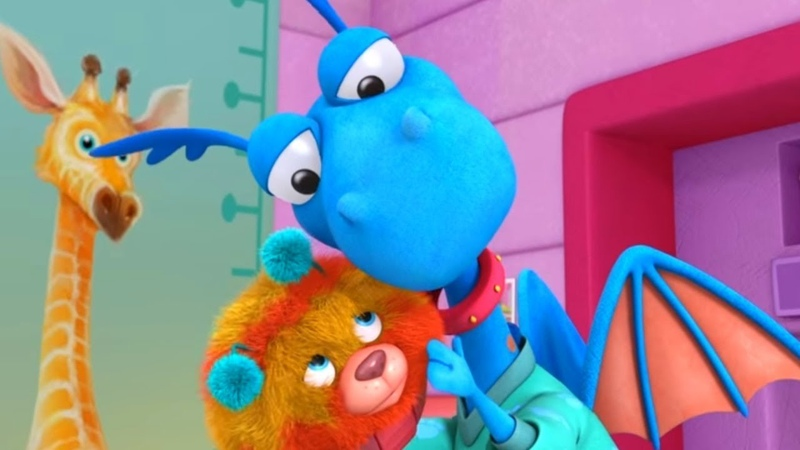 Доктор Плюшева Серия 8 Сезон 3 самые лучшие мультфильмы Disney для детей