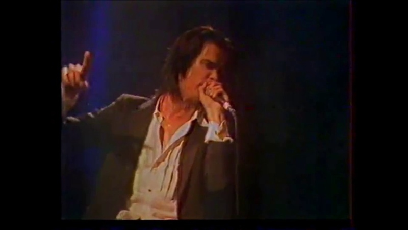 Nick Cave The Bad Seeds Rodon Athens 1989