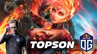 TOPSON LINA - Dota 2 Pro Gameplay [Watch & Learn]