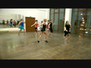 Самба продолжающая группа Ирины интересная хореографиия