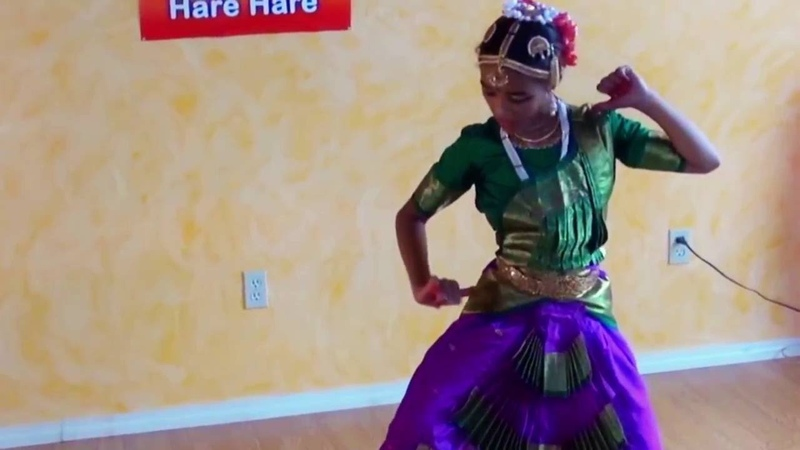 Radhe Jaya Jaya Madhava Dayite Bharatnatyam Indian Dance by Rupa Kishori Ji 11 years old