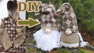 Новогодний гном своими руками.Скандинавский гном.DIY Holiday Gnomes