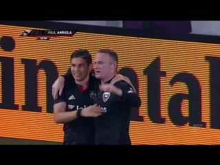 Wayne Rooney continues to spark D.C. United with two goals against Portla