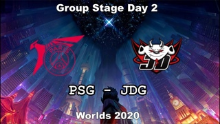PSG vs. JDG | Group Day 2 WORLDS 2020 | Чемпионат Мира | JD Gaming vs PSG Talon