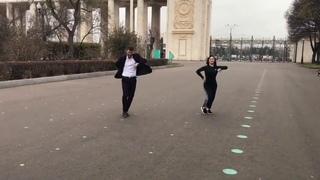 Великолепные Танцоры  SAMED И MONIKA Танцуют Просто Прекрасно 2020, Чеченская Лезгинка Кавказа