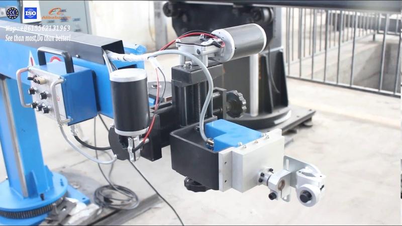 TIG MIG Welding head electrical 100x100stroke Seam oscillator demo