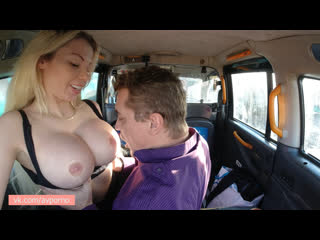 SexInTaxi E13 Barbie Sins - Comfortable ride with sexy blonde Czech Sex In Taxi Public CzechAV Busty MILF zpTHOT avporno