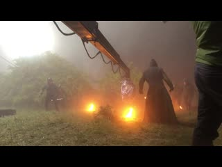The witcher stunt team behind the scenes (just for fun)