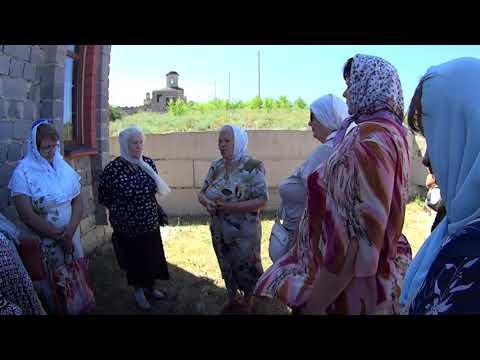Часть экскурсии по Луганской Голгофе