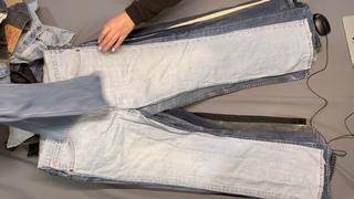 Мужские джинсы LEVIS КРЕМ+Экстра/Италия 25кг (9,95€/кг) - (36ед) - (22 990руб)