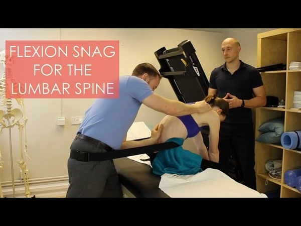 SNAG For Lumbar Spine Flexion