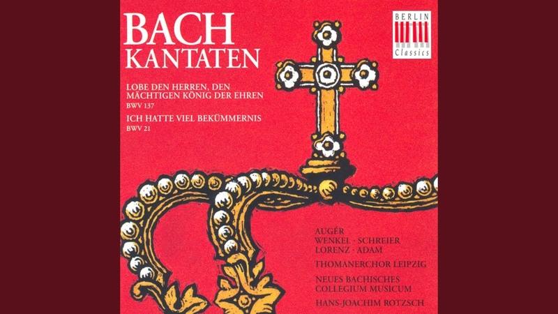 Ich hatte viel Bekümmernis BWV 21 No 11 Das Lamm das erwürget ist