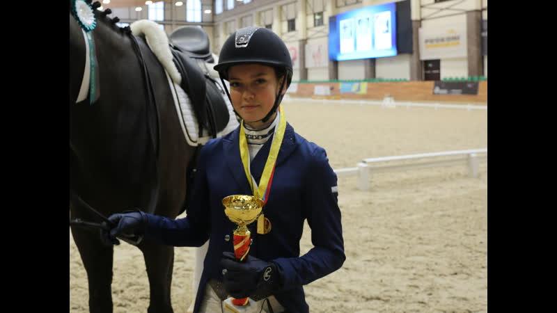 Полина Иванова победитель Командного Приза Юноши CDIJ