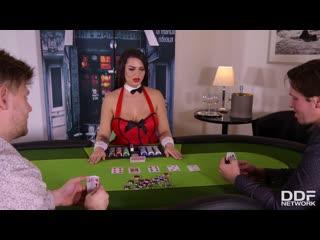 DDFNetwork - Stacked Poker Babe DP'ed / Chloe