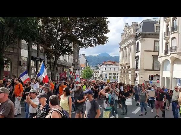 Clermont Ferrand 18 septembre 2021 toujours mobilisé