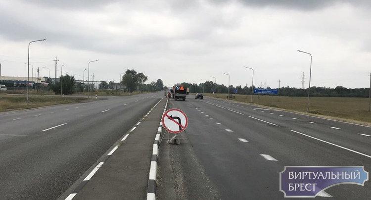 """Власти внезапно закрыли левый поворот к проезду ул. Катин Бор СЭЗ """"Брест"""". И как ездить?"""