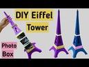 DIY Eiffel Tower Box | Step by Step Full Tutorial | Friendship Day Gift Ideas |
