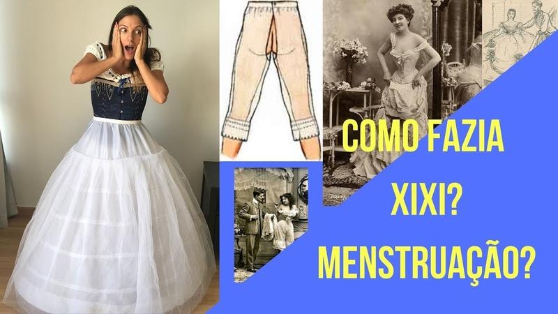 Xixi Menstruação Calor Moda no século XIX