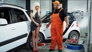 Тупая Блондинка за рулем попала в ДТП - расплата на СТО!! Подборка, аварии, драки 2019   На Троих