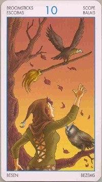 Таро Юных Ведьм. Младшие Арканы. Помело B0kvR1fn960