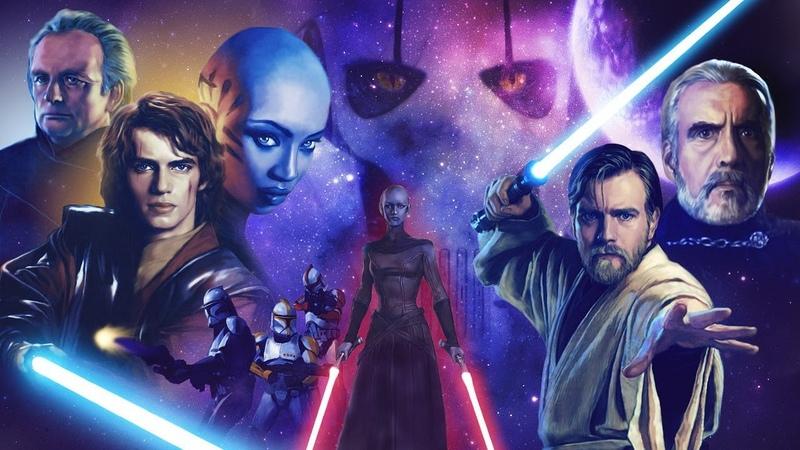 Топ 10 поединков в сериале Звездные Войны Войны Клонов