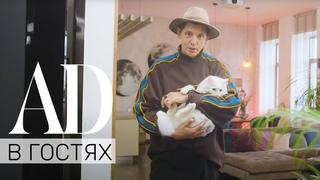 AD в гостях у стилиста Влада Лисовца: кот Бандит, терраса на крыше и идеальная гостиная
