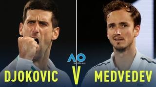 Novak Djokovic vs Daniil Medvedev | Australian Open 2021 Final Highlights