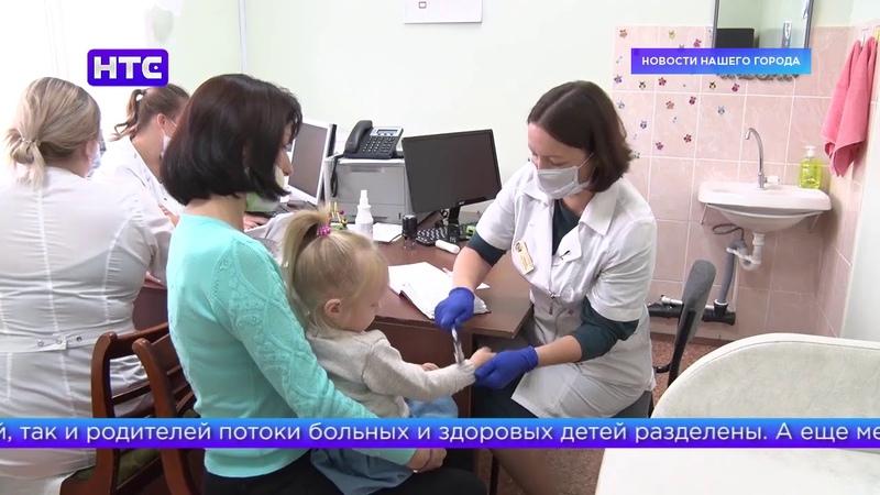 В детской поликлинике начались осмотры маленьких пациентов для прохождения комиссии