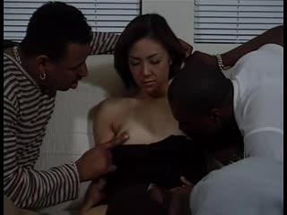 Typhoon Midori Black Pearls 1 Sc.8 [Uncensored Japanese JAV Threesome Orgy Gangbang All Sex Blowjob Squirting Creampie