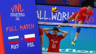 Russia v Poland - Full Match - Final Round Pool B   Men's VNL 2018