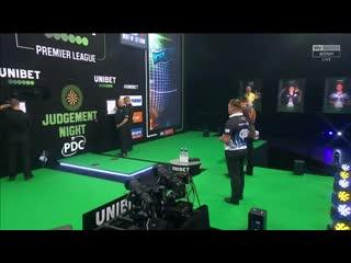 Jermaine Wattimena vs Gerwyn Price (PDC Premier League Darts 2020 / Week 9)