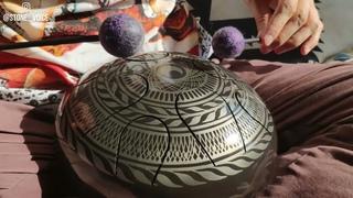 Pygmy Pentatonic Handmade steel tongue drum