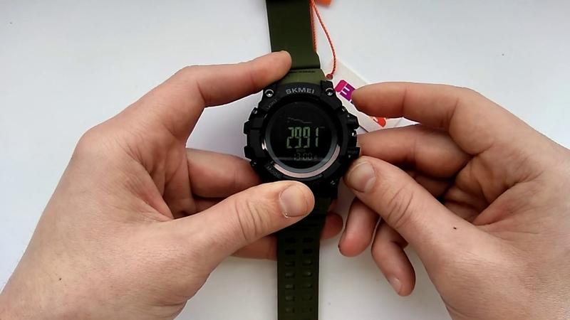 Часы Skmei 1358 настройка времени калибровка компаса альтиметра барометра инструкция на русском
