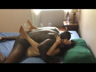 Yoga hotwife cuckolding hubby with superior black cock (milf, pov)