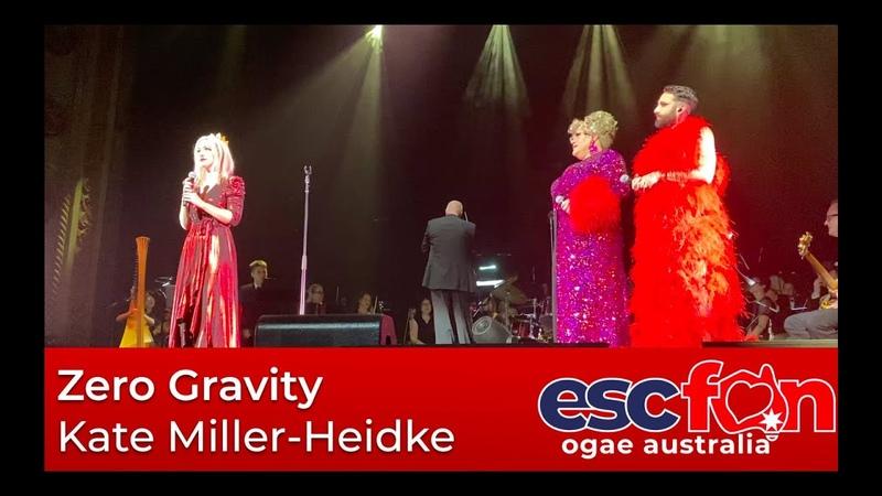 Kate Miller-Heidke, Zero Gravity feat. Conchita Wurst Trevor Ashley - State Theatre, Sydney