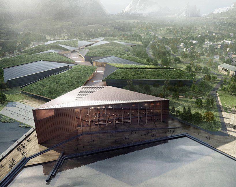The Kolos data center in Norway mimics a glacier's movement