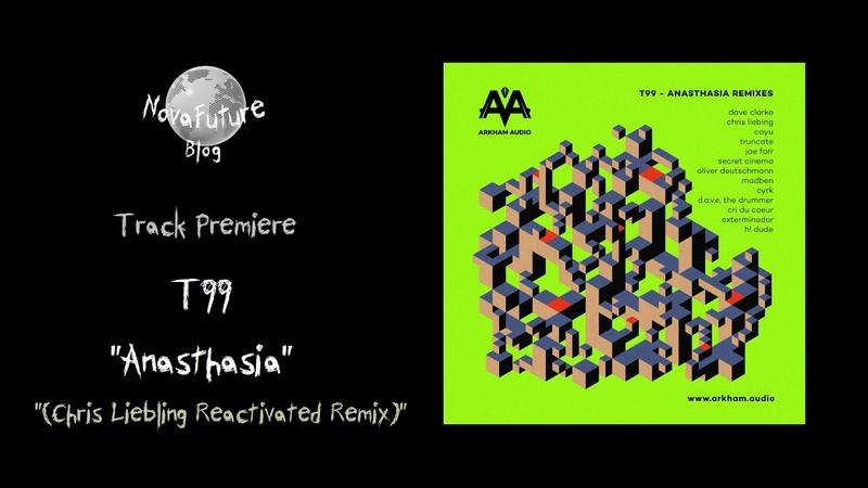 T99 Anasthasia Chris Liebing Reactivated Remix ARKIO05 Arkham Audio Records Premiere