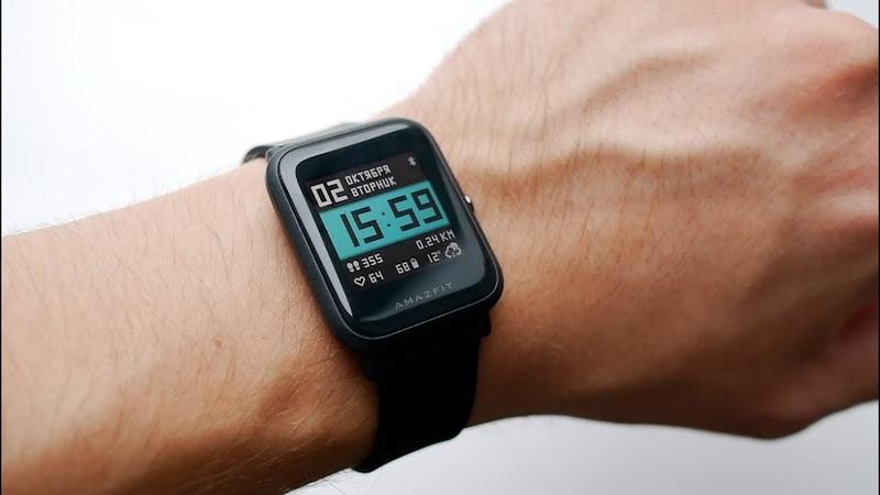 Обзор смарт часов Xiaomi Amazfit Bip 1 месяц на одном заряде