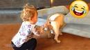 Я РЖАЛ ДО СЛЕЗ 😂 Смешные Видео / Приколы с животными 2021 - Самые милые собаки и дети