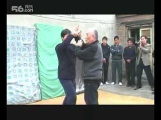 Kou Gui Jiang, Yang Ban Hou style push hands
