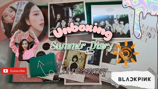 [Unboxing] BLACKPINK SUMMER DIARY IN SEOUL 2020 + JISOO MARIE CLAIRE GIVEAWAY ✨ | Deurimbakseu