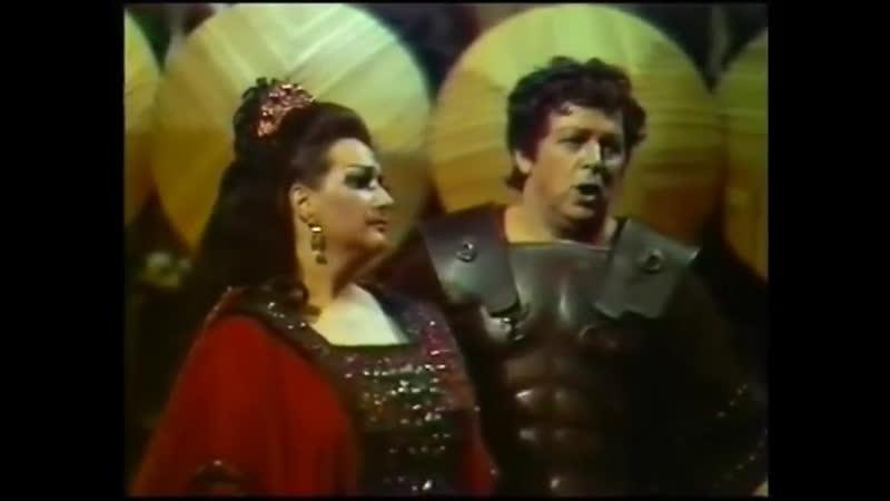 NORMA RARE VIDEO Caballé Cossotto Raimondi Performed at the Venue Opera Company Bolshoi Theatre Moscow 19 06 1974