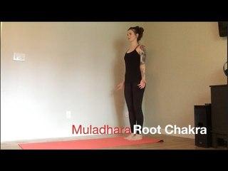 Seven Minute Chakra Series - Root Chakra (Muladhara) Yoga Flow with Nessa
