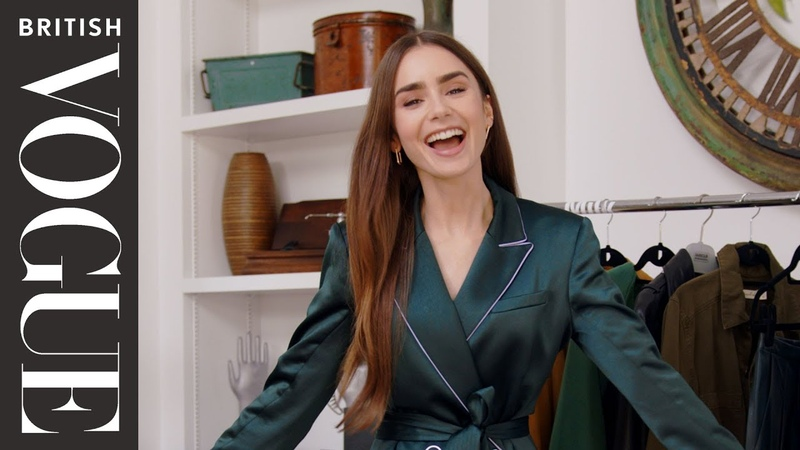 Lily Collins Inside The Wardrobe Episode 14 British Vogue