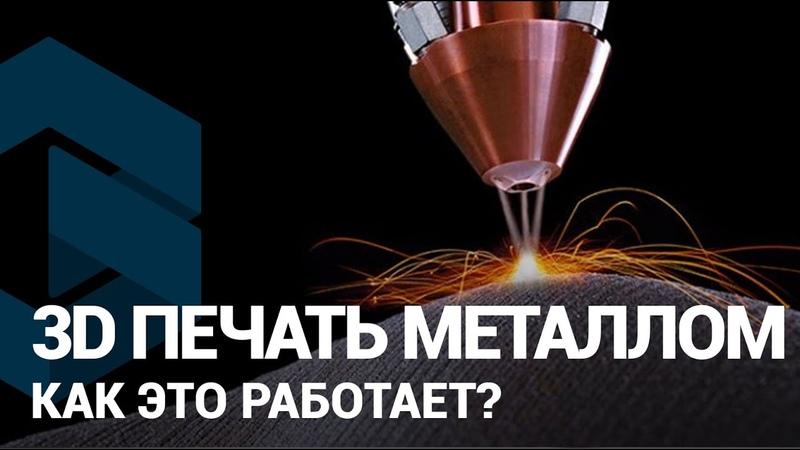 3D печать металлом на 3D принтере О технологии