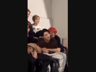 Taeyong kissed ten's neck