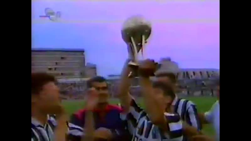 Партизан-Црвена Звезда. ТВ Лига Шампиона у Приштини (29.07.1995)